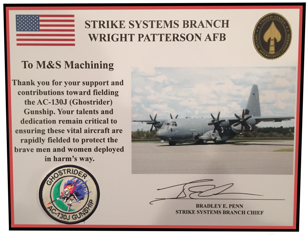 AC-130J Ghostrider Recognition