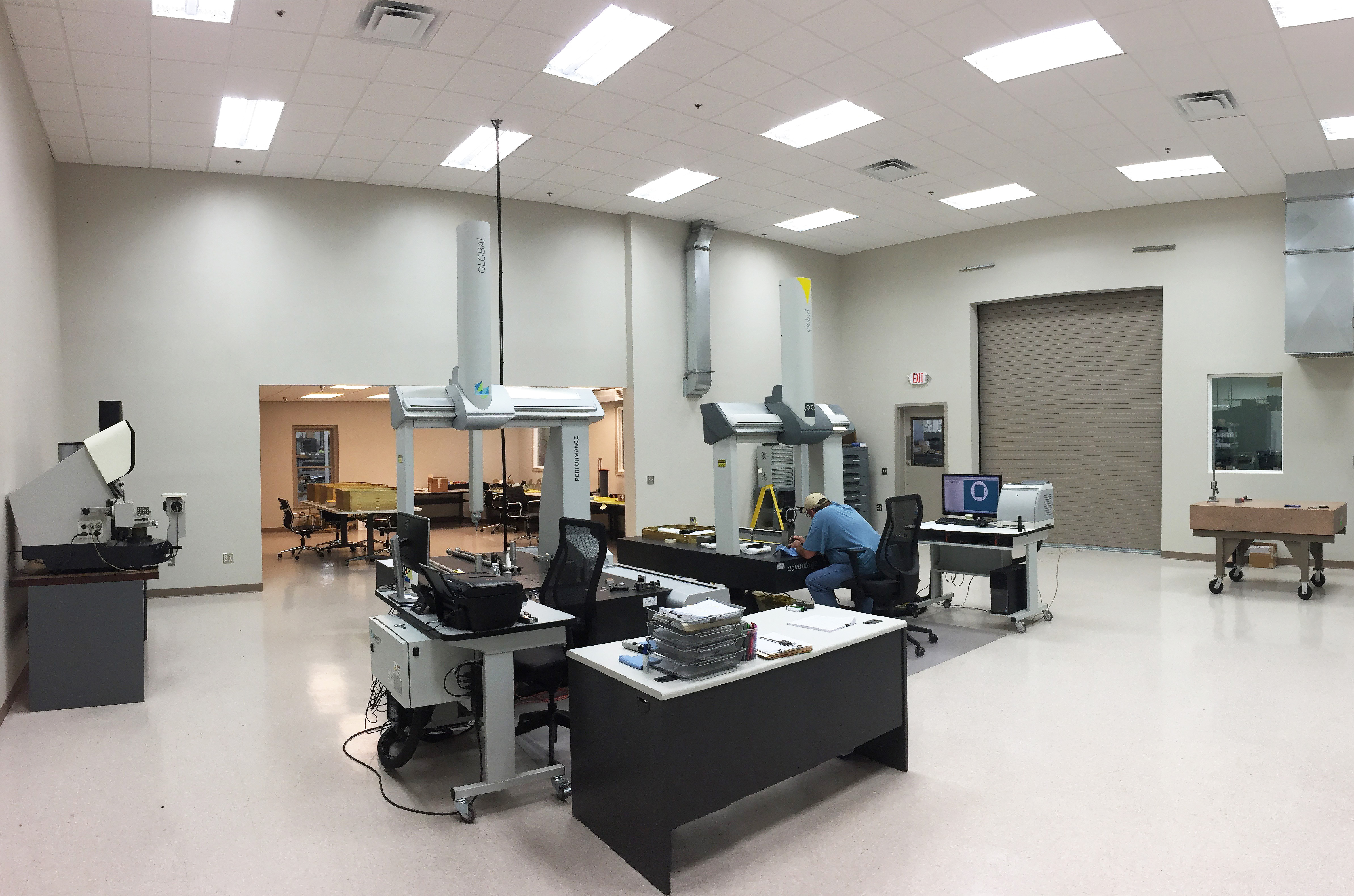 AS9100 Qulaity Inspection Lab